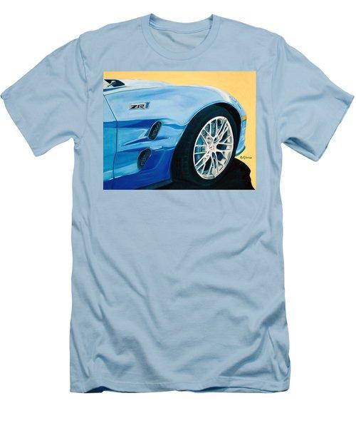 Zr1 Go Faster Men's T-Shirt (Athletic Fit)