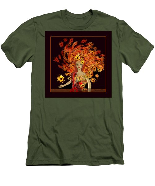 322 - Sweet Child Of Autumn .. Men's T-Shirt (Athletic Fit)