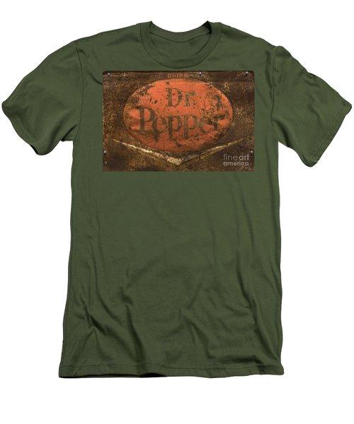 Dr Pepper Vintage Sign Men's T-Shirt (Athletic Fit)