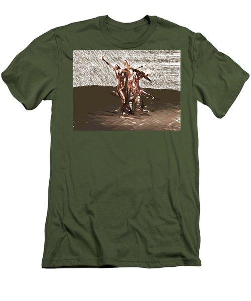 Field Of Pleasures Men's T-Shirt (Athletic Fit)