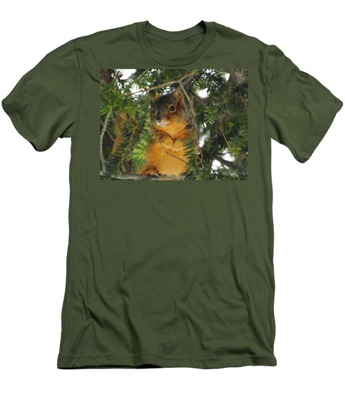 Fox Squirrel Men's T-Shirt (Athletic Fit)