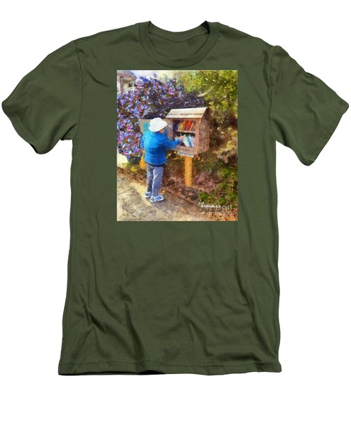 Alameda  Little Free Library Men's T-Shirt (Athletic Fit)