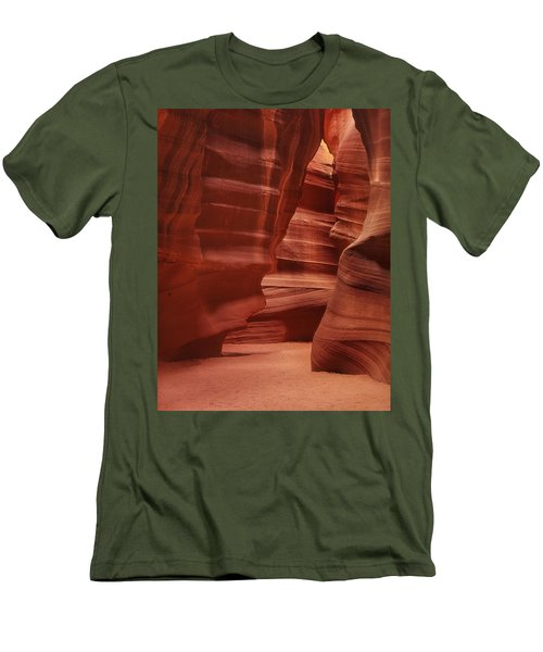 Antelope Slot Canyon Men's T-Shirt (Athletic Fit)