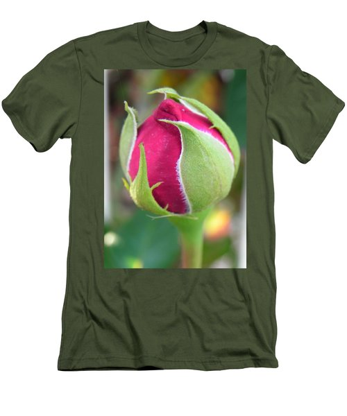 Men's T-Shirt (Slim Fit) featuring the photograph Anticipation by Deb Halloran