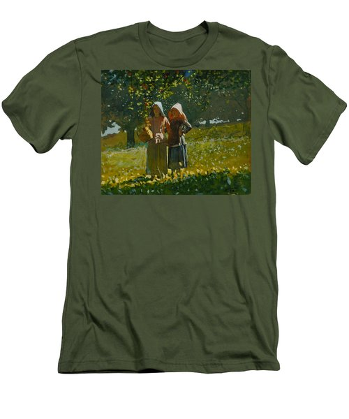 Apple Picking  Men's T-Shirt (Athletic Fit)