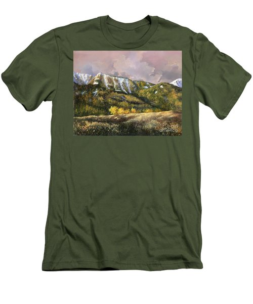 Men's T-Shirt (Slim Fit) featuring the painting Bear Claw by Lynne Wright