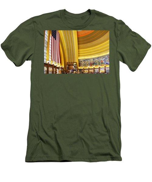 Cincinnati Museum Center At Union Terminal 0018 Men's T-Shirt (Athletic Fit)