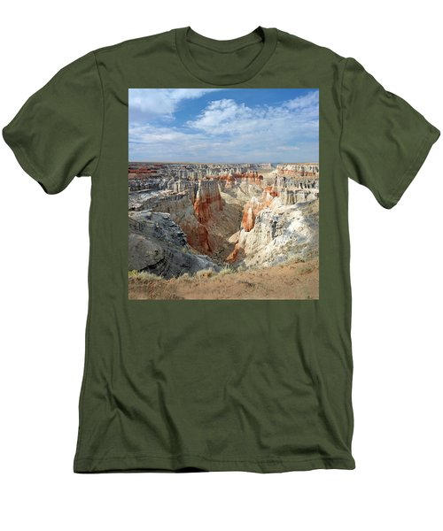 Coal Mine Mesa 14 Men's T-Shirt (Slim Fit) by Jeff Brunton