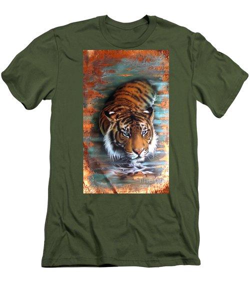 Copper Tiger II Men's T-Shirt (Athletic Fit)