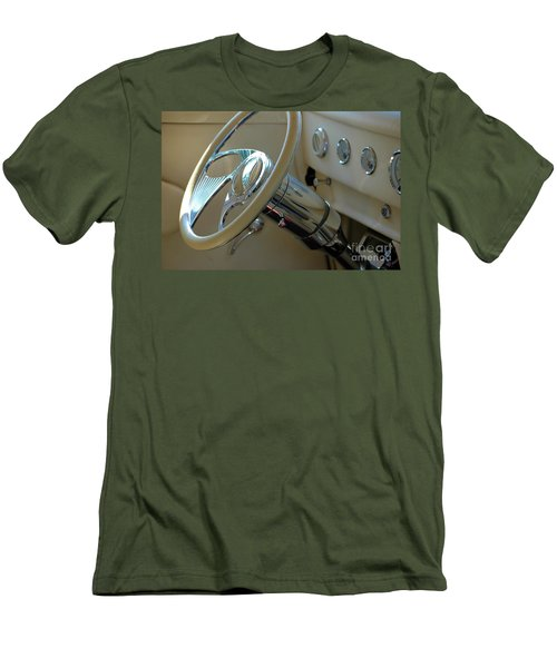 Men's T-Shirt (Athletic Fit) featuring the photograph Dashboard Glam by Christiane Hellner-OBrien