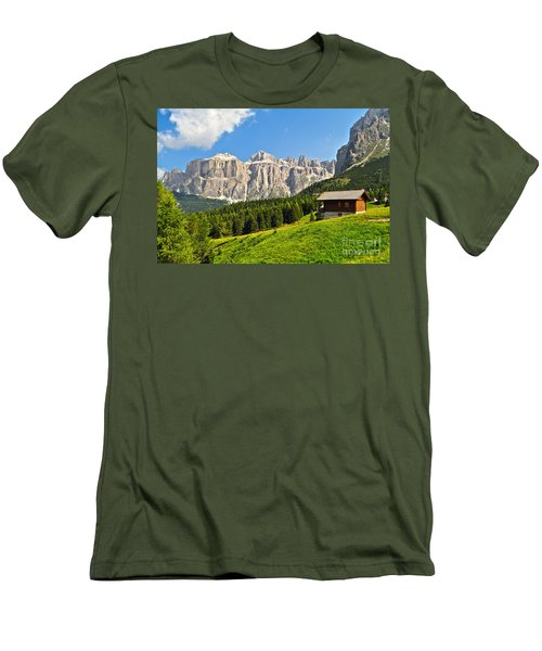 Dolomiti - High Fassa Valley Men's T-Shirt (Athletic Fit)