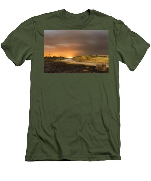 Fire On The Horizon Men's T-Shirt (Athletic Fit)
