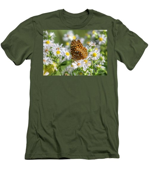 Men's T-Shirt (Slim Fit) featuring the photograph Gods Creation-18 by Robert Pearson