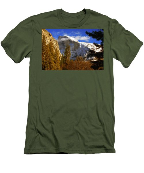 Half Dome  Men's T-Shirt (Athletic Fit)