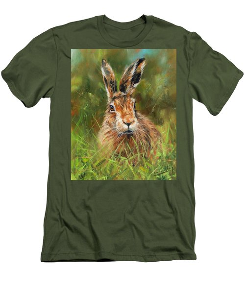 hARE Men's T-Shirt (Slim Fit)