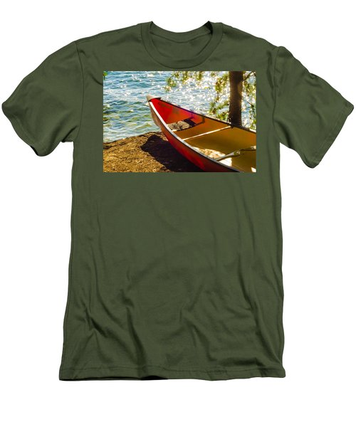Kayak By The Water Men's T-Shirt (Athletic Fit)
