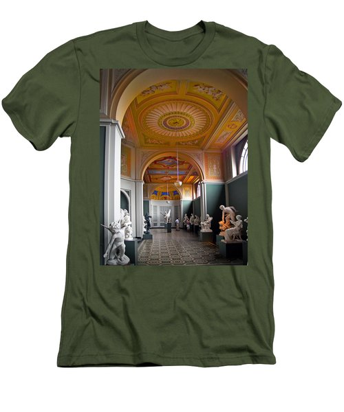 Kopenhavn Carlsberg Glyptotek 08 Men's T-Shirt (Slim Fit) by Jeff Brunton