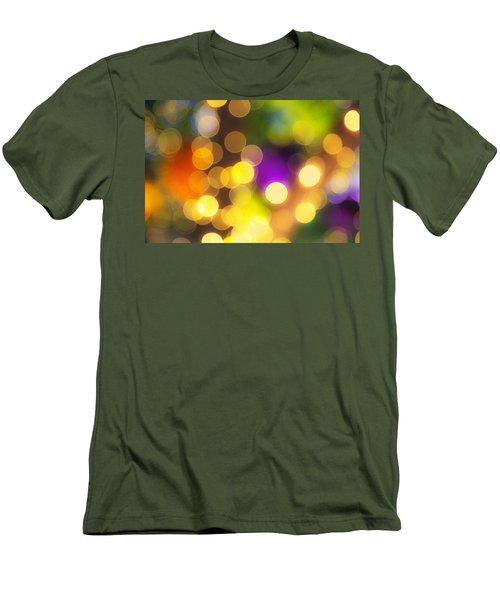 Light Circles Men's T-Shirt (Slim Fit) by Susan Stone