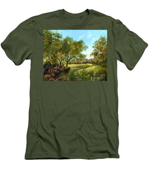 Luray Pasture Men's T-Shirt (Athletic Fit)