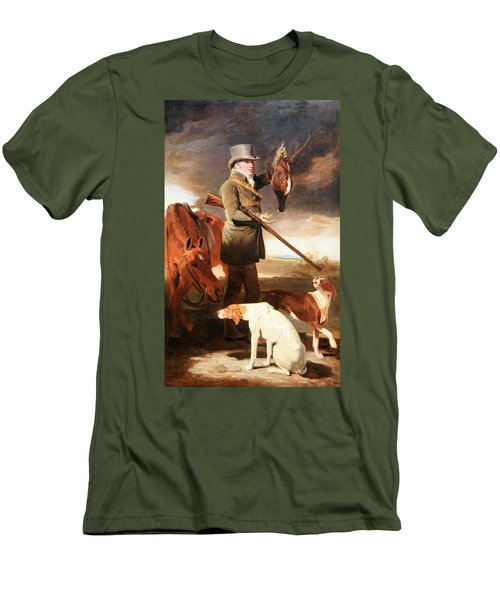 Marshall's J G Shaddick -- The Celebrated Sportsman Men's T-Shirt (Slim Fit)