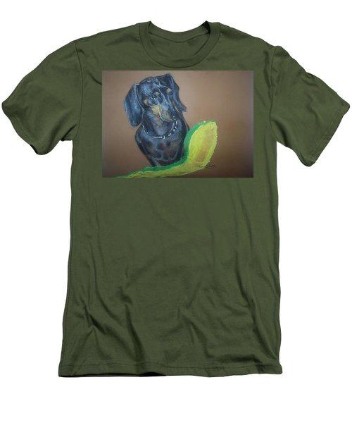 Ozzie Dashound Men's T-Shirt (Athletic Fit)