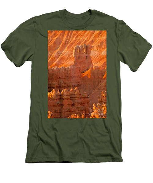 Sunrise At Sunset Point Bryce Canyon National Park Men's T-Shirt (Athletic Fit)