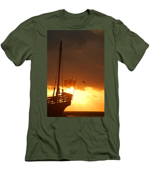 The Nina  Men's T-Shirt (Slim Fit) by Leticia Latocki