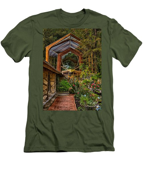 The Wayfarers Chapel Men's T-Shirt (Athletic Fit)