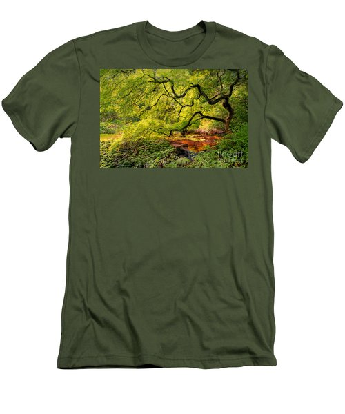 Tranquil Shade Men's T-Shirt (Athletic Fit)
