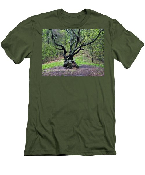 Tree In The Forest Men's T-Shirt (Athletic Fit)