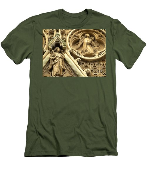 Truro Cathedral Men's T-Shirt (Slim Fit) by Rachel Mirror