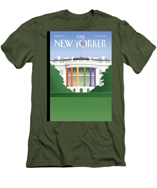 New Yorker May 21st, 2012 Men's T-Shirt (Athletic Fit)