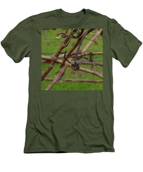 Vineart . Vat 3.6 Men's T-Shirt (Slim Fit) by Cheryl Miller