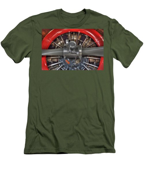 Vultee Bt-13 Valiant Propeller Men's T-Shirt (Athletic Fit)