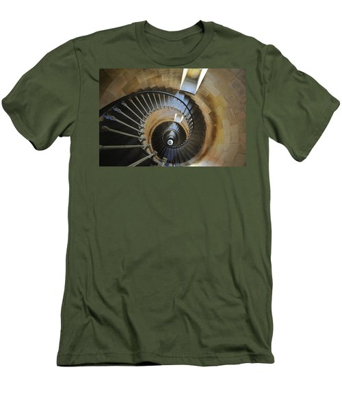 Men's T-Shirt (Slim Fit) featuring the photograph 120920p001 by Arterra Picture Library
