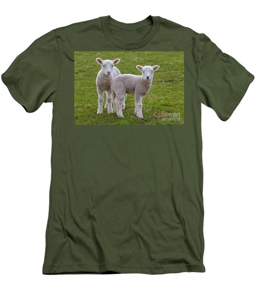 Men's T-Shirt (Slim Fit) featuring the photograph 130201p091 by Arterra Picture Library
