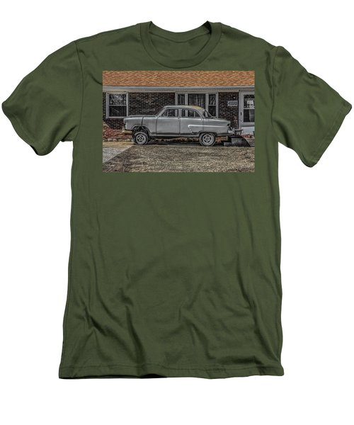 Men's T-Shirt (Slim Fit) featuring the photograph 1952 Ford by Ray Congrove