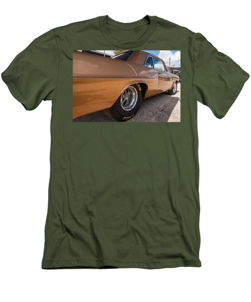 1963 Pontiac Lemans Race Car Men's T-Shirt (Athletic Fit)