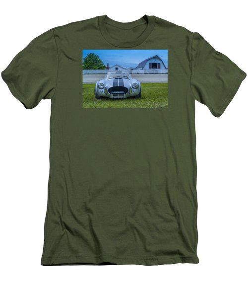 1965 Ford Shelby Cobra American Roadster Men's T-Shirt (Slim Fit) by Ken Morris