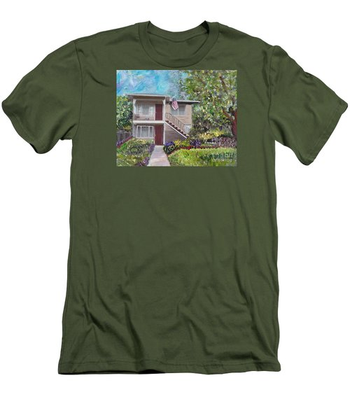 Alameda 1908 Duplex  Men's T-Shirt (Athletic Fit)
