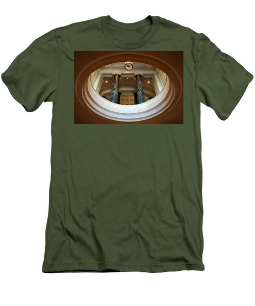 Men's T-Shirt (Slim Fit) featuring the photograph An Oculus by Cora Wandel