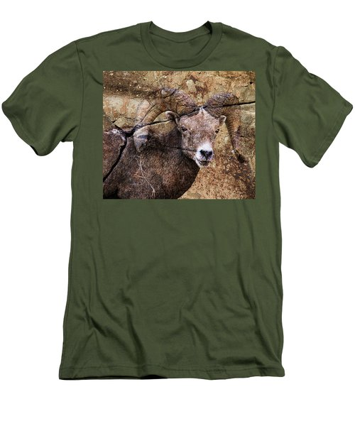 Bighorn Rock Men's T-Shirt (Athletic Fit)