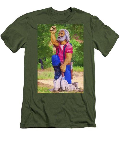 Coarsegold Miner Men's T-Shirt (Athletic Fit)