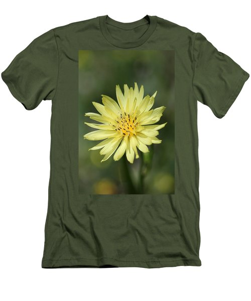 Men's T-Shirt (Slim Fit) featuring the photograph Dandelion by Ester  Rogers