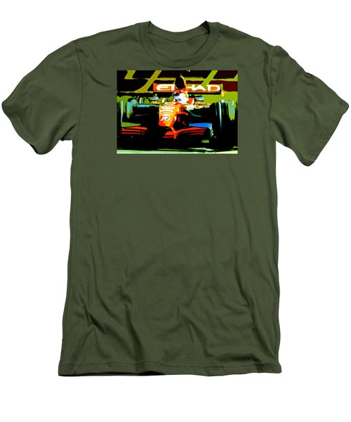 Formula One Men's T-Shirt (Slim Fit) by Michael Nowotny