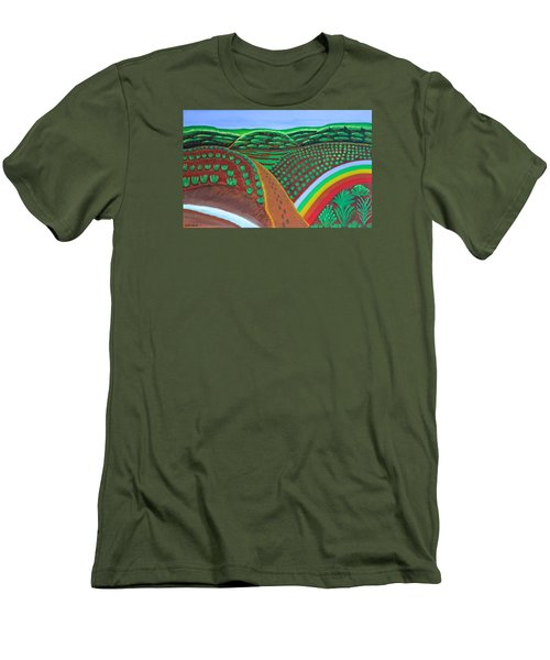 Hidden Forest Men's T-Shirt (Athletic Fit)