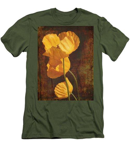 Icelandic Poppy Men's T-Shirt (Slim Fit) by Bellesouth Studio