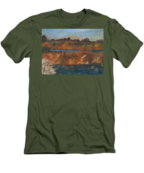 Mendota Slough Men's T-Shirt (Athletic Fit)