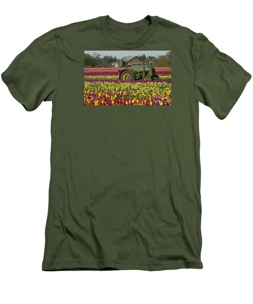 Men's T-Shirt (Slim Fit) featuring the photograph With Toil Comes Beauty by Nick  Boren