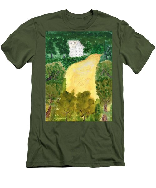 21 Room House On Golden Lake Dream Men's T-Shirt (Athletic Fit)